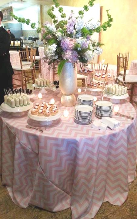 Chevron Linen Liberty Party Rental