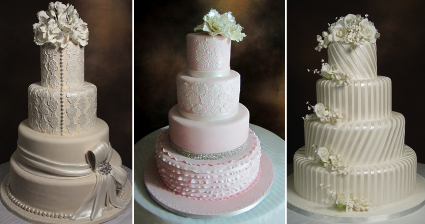 intricate cakes