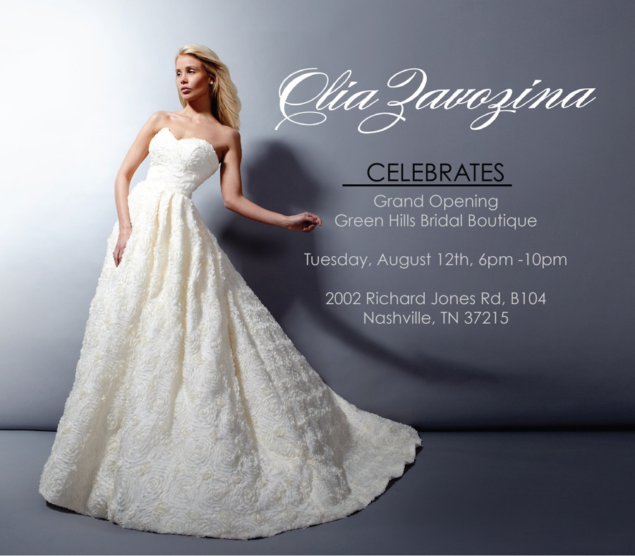 Olia Zovazina Grand Opening! | Enchanted Brides