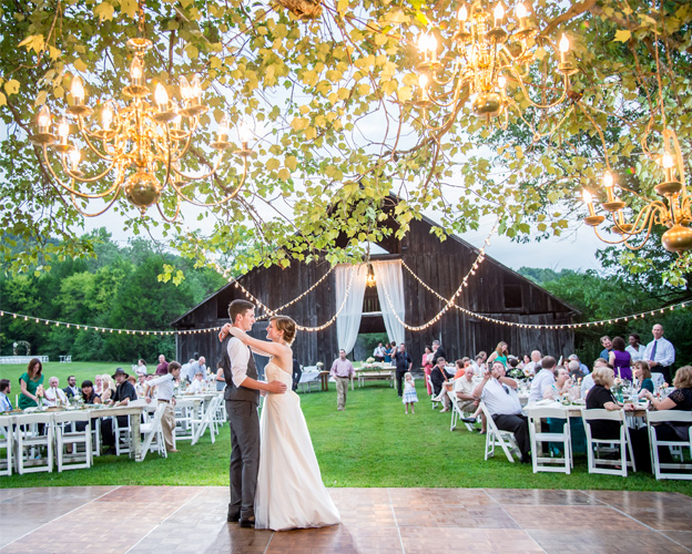 Outdoor Wedding Fun | Enchanted Brides
