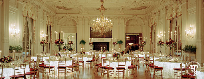 Rosecliff Ballroom Decorated