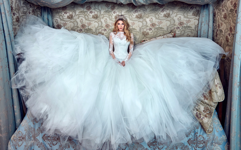 Wedding Dresses Fit for a Queen | Enchanted Brides