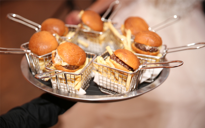 Serving Wedding Guests Late Night Snacks At Your Reception Is Becoming Widely Por And It S Easy To See Why Surprising With Mini Versions Of