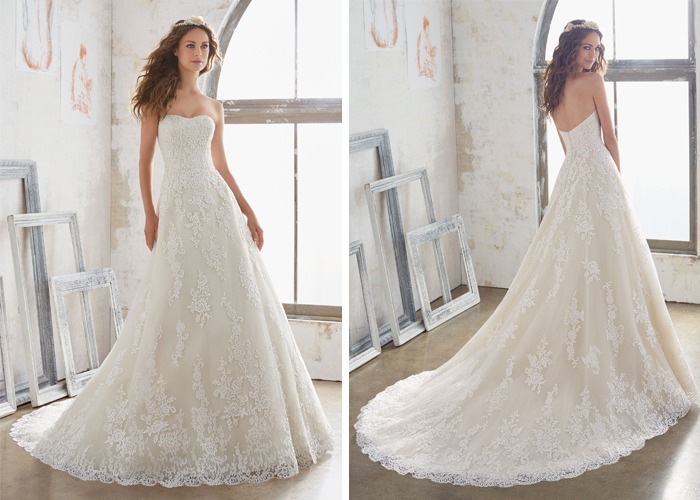 New Wedding Gowns for the New Year | Enchanted Brides