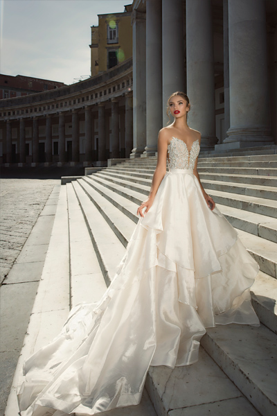 Julie Vino\'s Newest Collection of Regal Wedding Gowns | Enchanted Brides