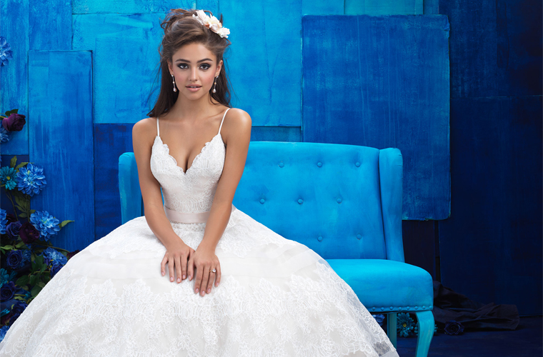 Allure Bridals Can Help You Find The Perfect Wedding Dress