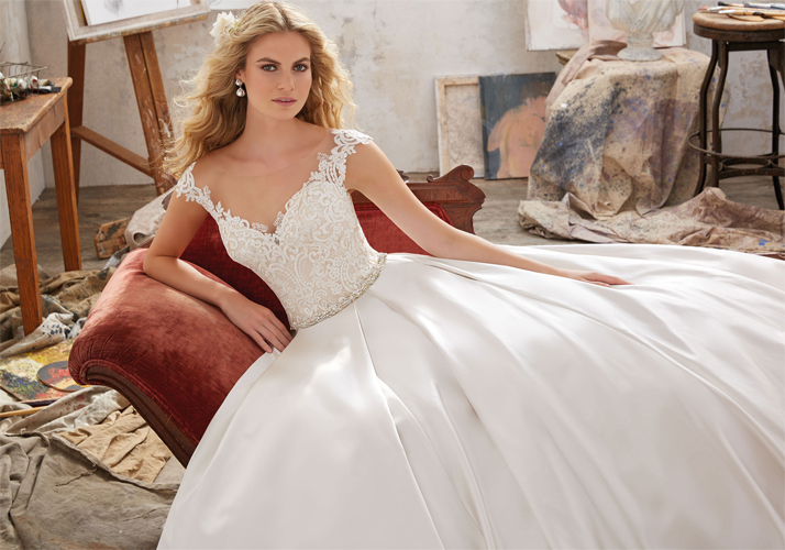 2017 Wedding Gown Trends | Enchanted Brides