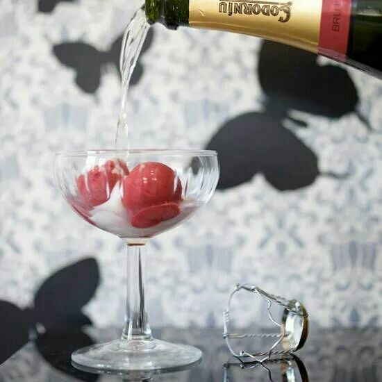 Champagne Sorbet Signiture Drink Copy