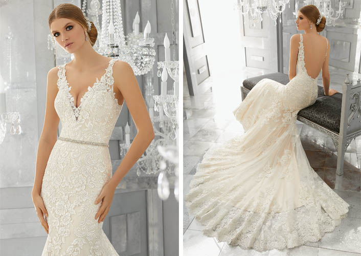 77f7d1844176 We know you fabulous brides will love walking down the aisle in a  magnificent gown from Madeline Gardner s Reflections Collection. View the  full collection ...