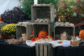 A Flavorful Fall Wedding Menu