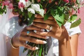 Fresh, Trendy Wedding Jewelry