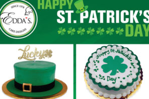 St. Patrick's Day Treats from Edda's Cake Designs!
