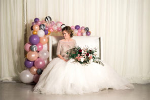 Elegant Balloon Wedding Design