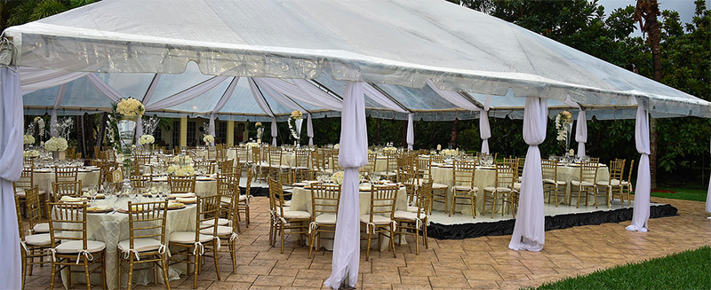 Via Bella Estate Tented Event